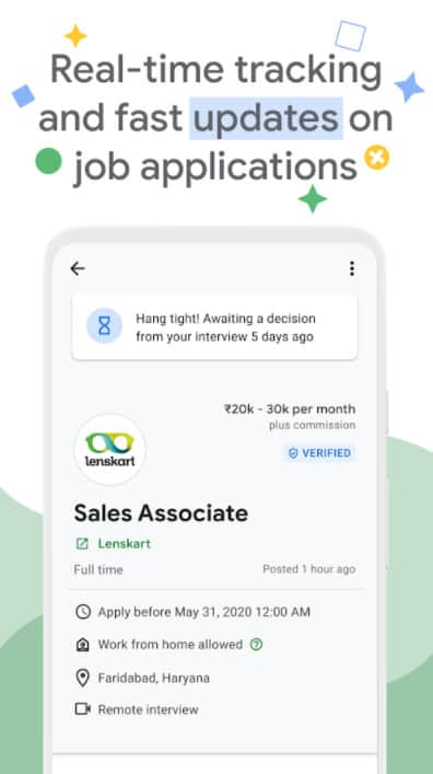 Google Kormo Jobs - job applications updates